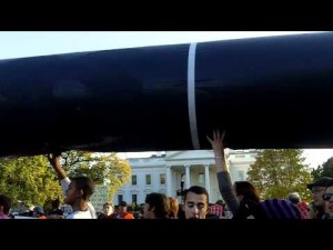 Pipeline Inflatable at White House