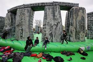 Inflatable Stonehenge