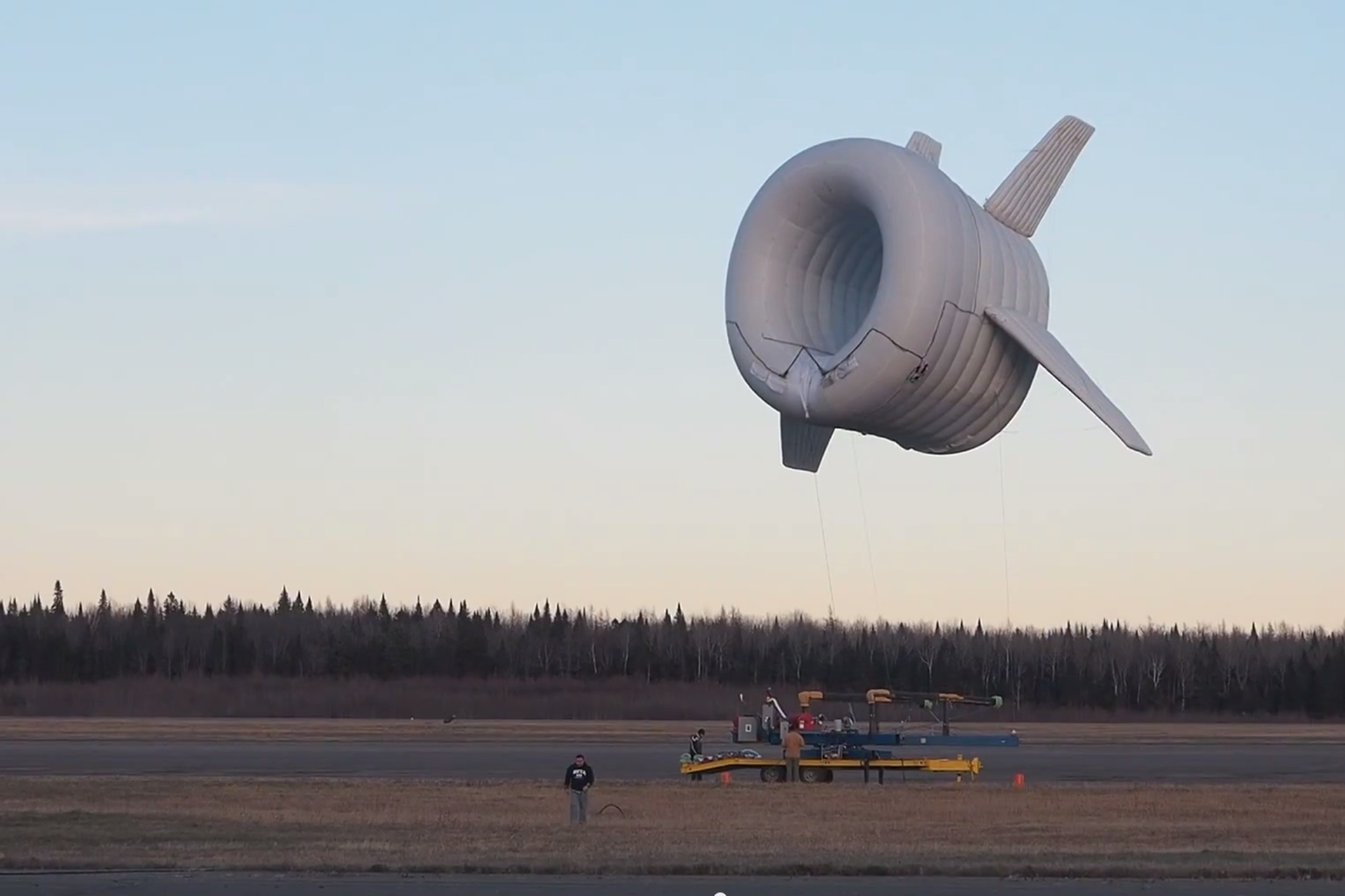 inflatable wind turbine