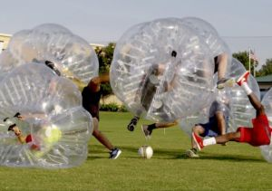 Knockerball bubble soccer