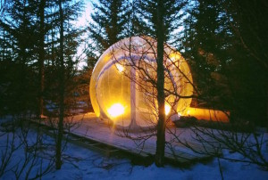 Aurora Bubble Hotel inflatable